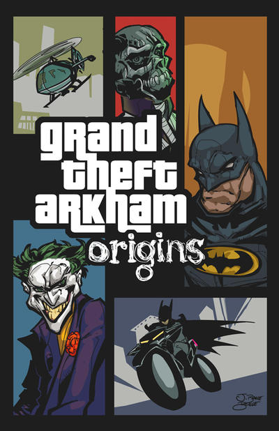 Grand Theft Arkham : Origins by Fexx-Neon