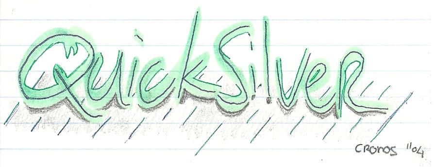 quicksilver logo by cronosstef on deviantart