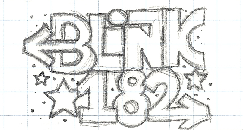 Blink 182 - Logo 'Arrows' by Cronos-Stef on DeviantArt