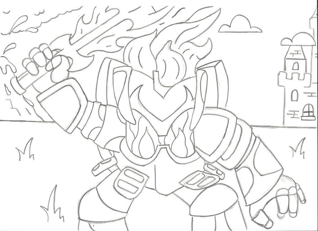 skylanders coloring pages ignitor pertronix - photo#13