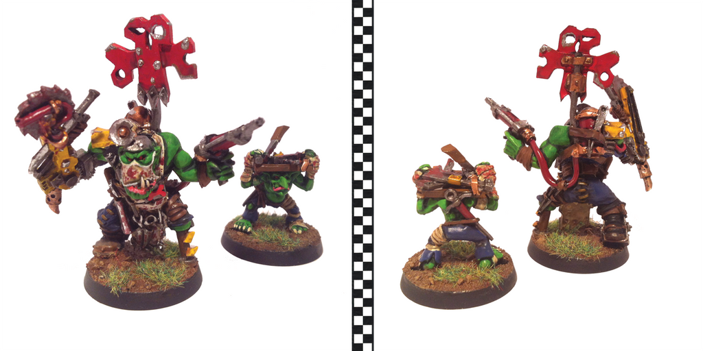 Ork Painboy With Grot Orderly By Cronos Stef On Deviantart