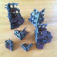 MDF Terrain - WIP8 by Cronos-Stef