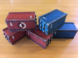 MDF Containers by Cronos-Stef