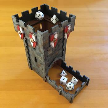 Q-Workshop - Dice Tower by Cronos-Stef