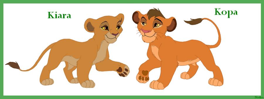 The lion king kopa and kiara - photo#4