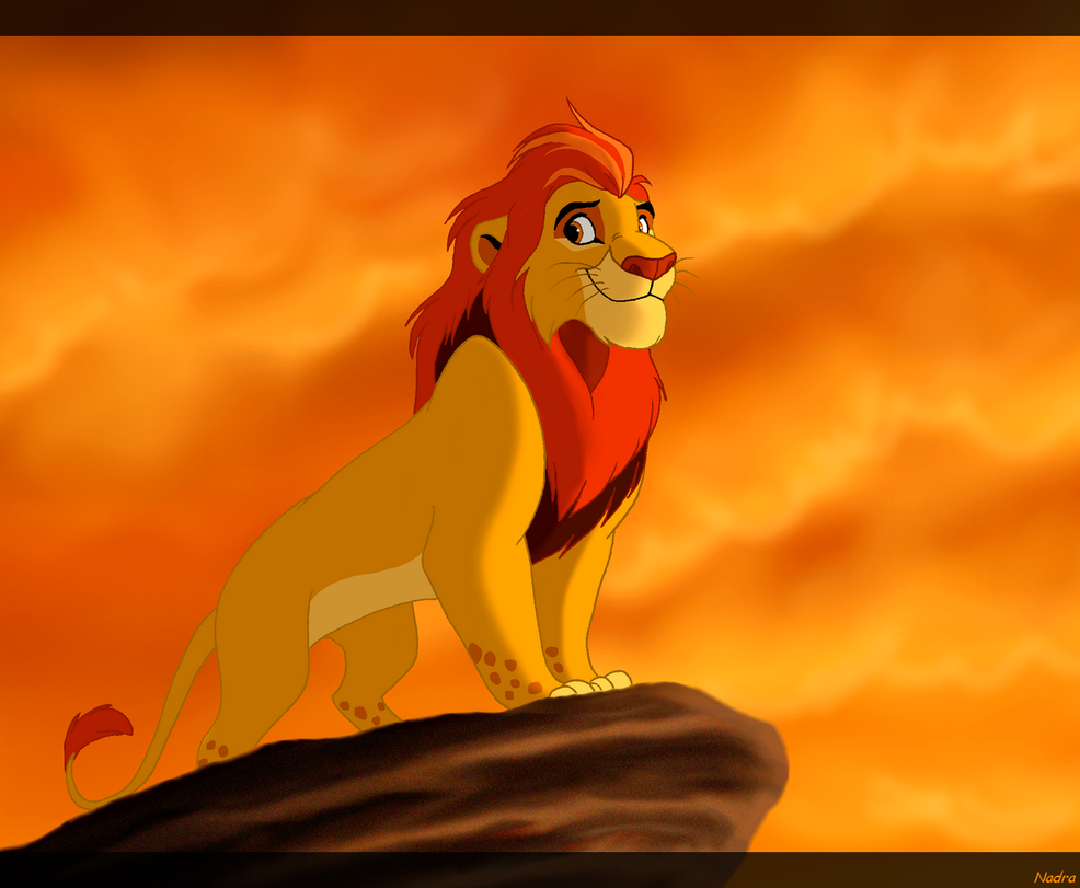 Guarding the pride lands by hydracarina on deviantart - Kion le roi lion ...