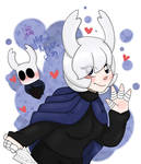 Hollow Knight-Chan by NatCupcake