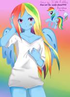 Rainbow Dash by kylekiller