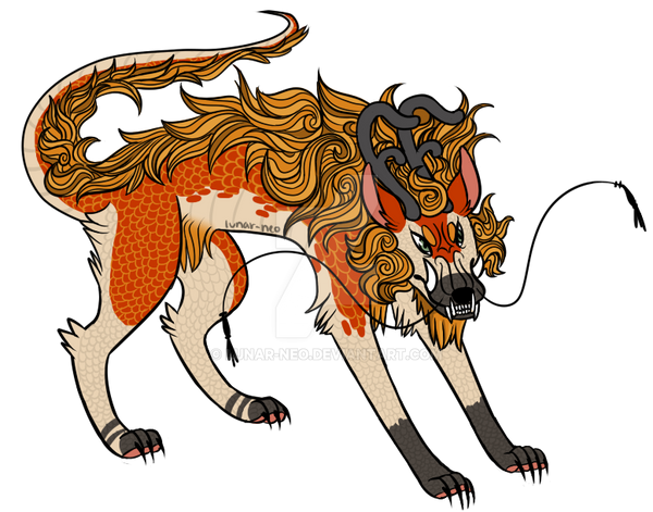 Dragon Dog[AT] by lunar-neo