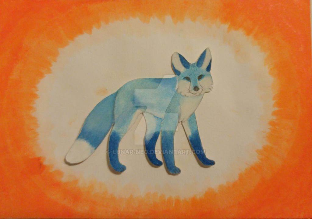 Blue Fox by lunar-neo