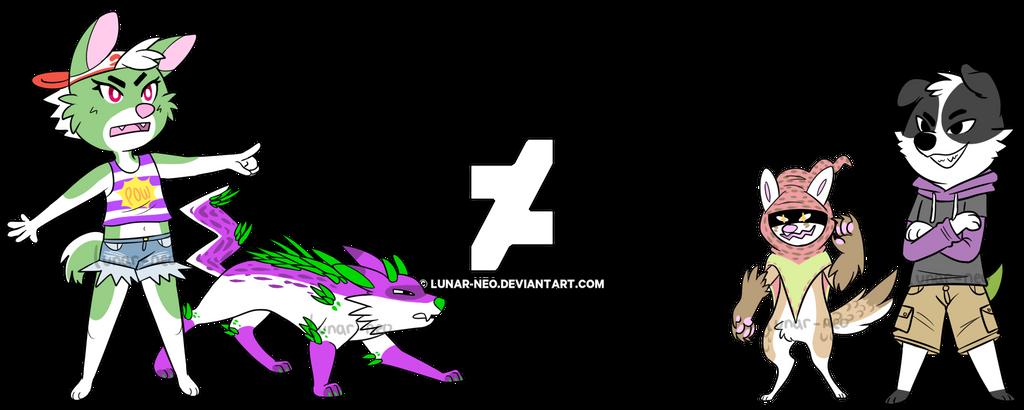 Pokemon Battle by lunar-neo