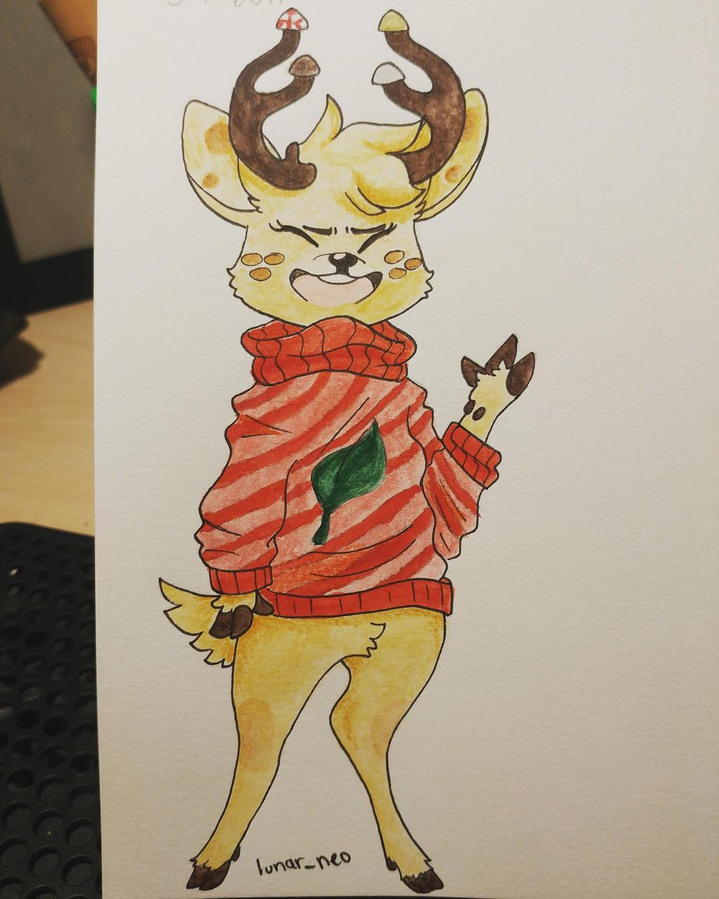 Be Deery! by lunar-neo