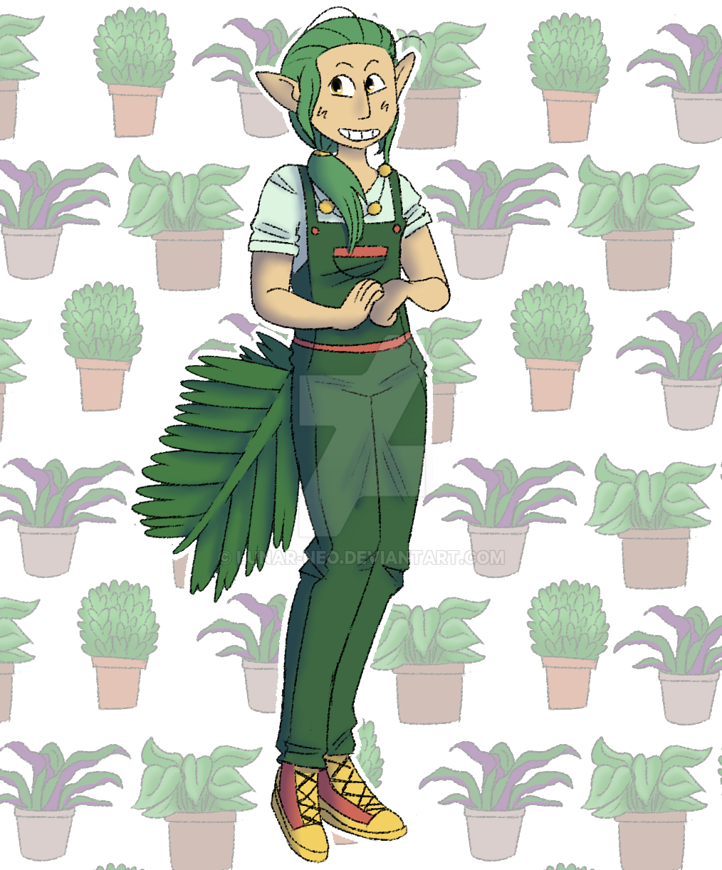 Plants? (1/3) by lunar-neo