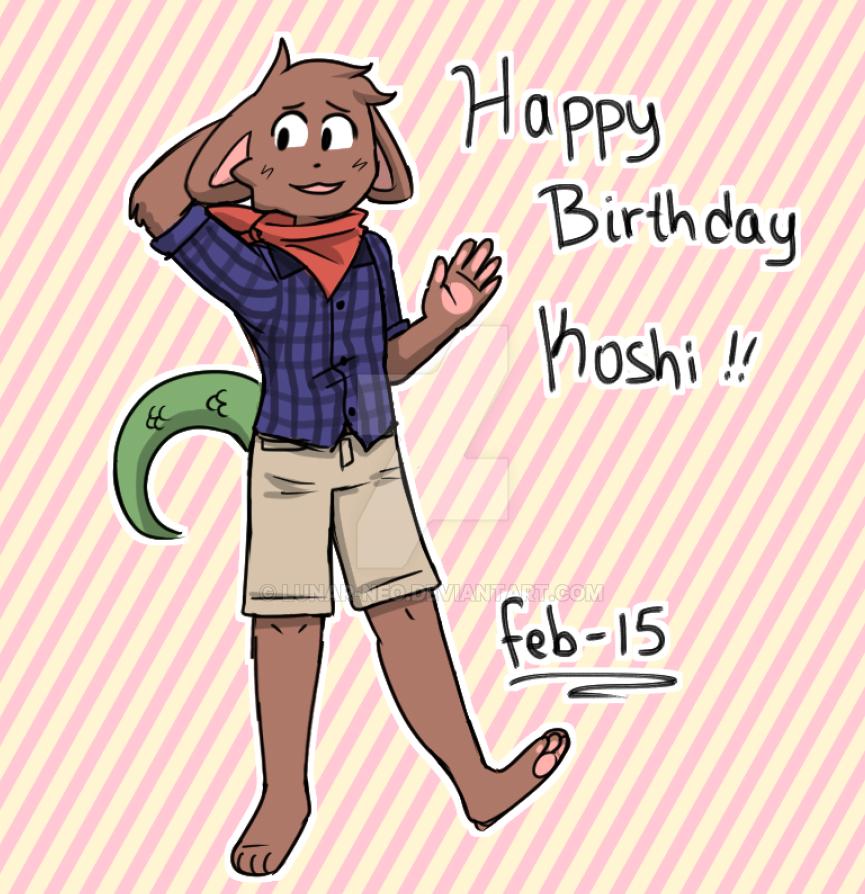 Koshi's Birthday by lunar-neo