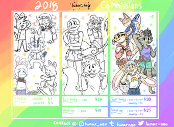 2018 Prices [open] by lunar-neo