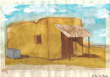 desert shack by jef88