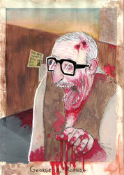 Geore A. Romero by jef88