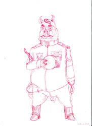 lieutenant Oink by jef88