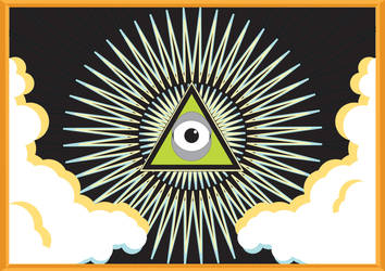 the all seeing eye by jef88