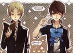 Shizuto and Chousuke
