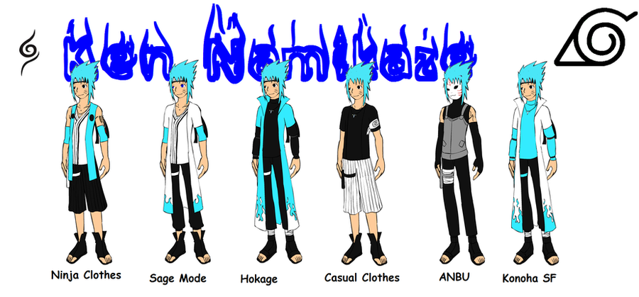 Image Gallery namikaze clan