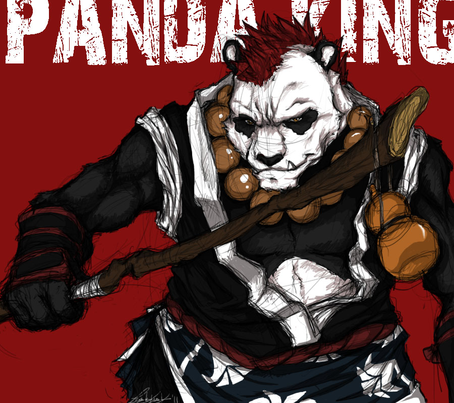 Panda King by Tiggstar