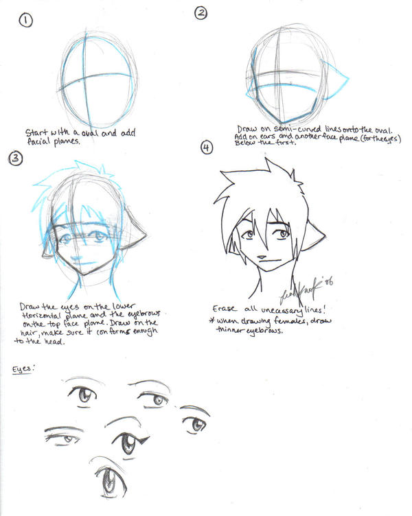 How To Draw Furry Heads Youtube