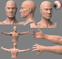 Human male by Kosmandis