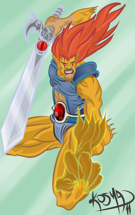 Lion-O by Kosmandis