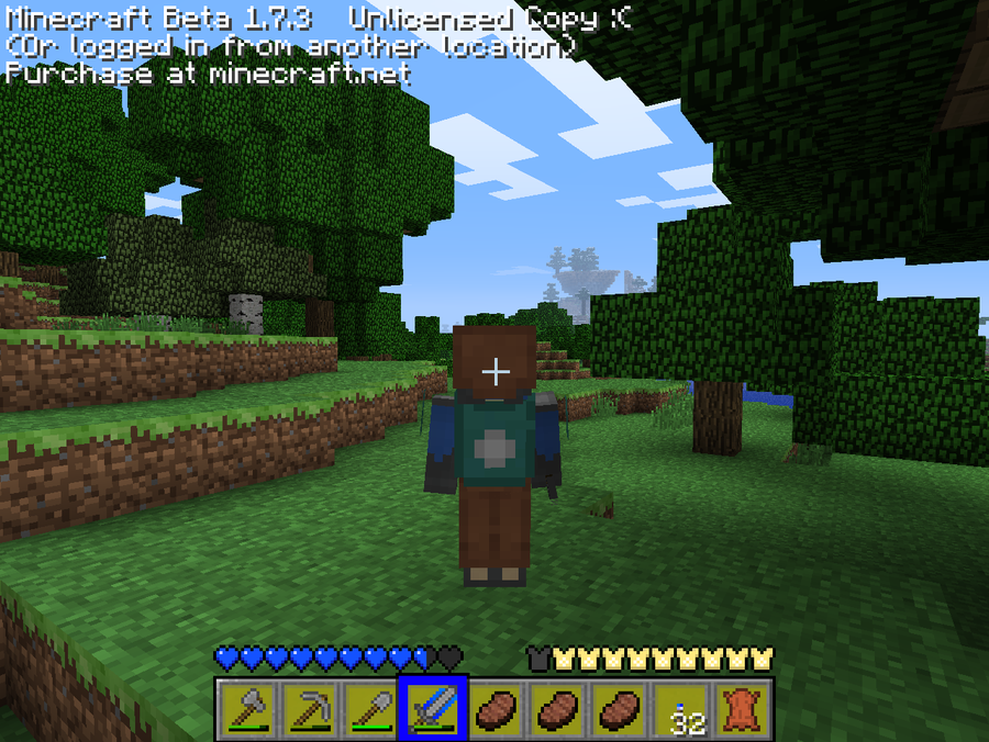 minecraft how to look at yourself in 3rd person
