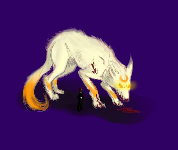 Wolf thing by kelinor