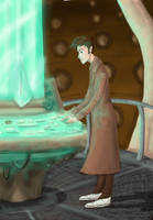 At the TARDIS by Savanahcat