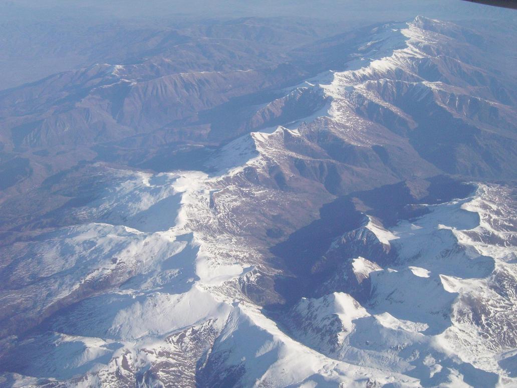 Ural Mountains 30000 Feet By Charlenedodge On Deviantart