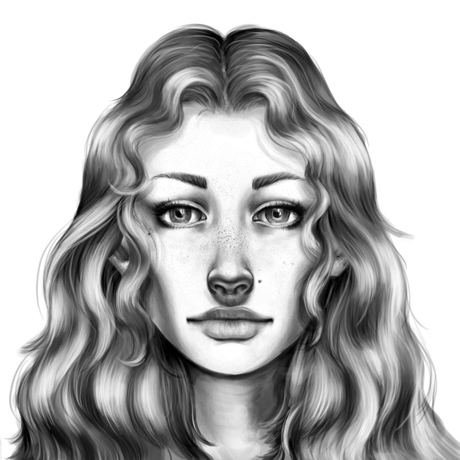 How to Draw a Realistic Face by catherinelennon