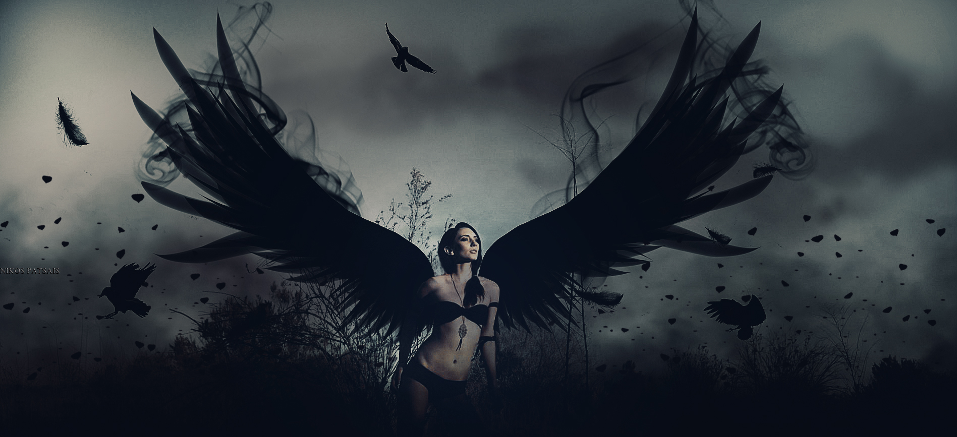 C: Angel Girl [original] by Cherubit on DeviantArt