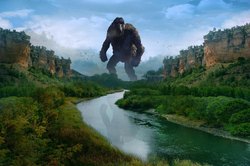 Giant troll by Nikos23a