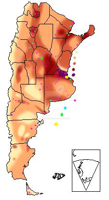 Mapa De Argentina Con La Densidad De Poblacion By TenebrisLunam On - Argentina mapa