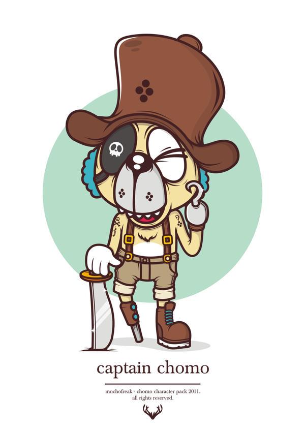Captain Chomo by mochofreak