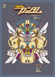 Freak Gundam by mochofreak