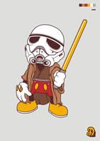 Mickey Jedi Troopers by mochofreak