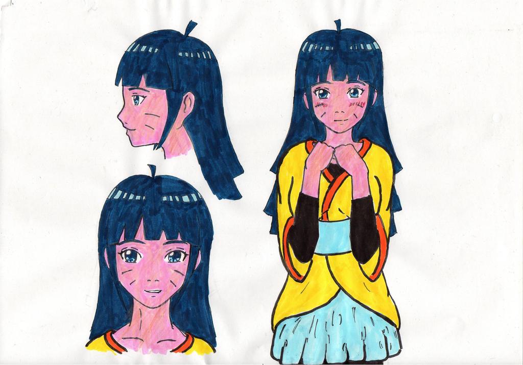 Older Himawari version (only sketch!) by KurinaUzumaki