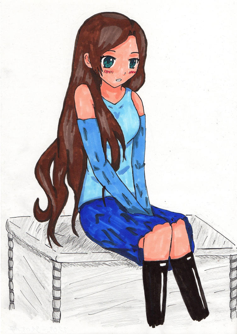 Just a girl :D by KurinaUzumaki