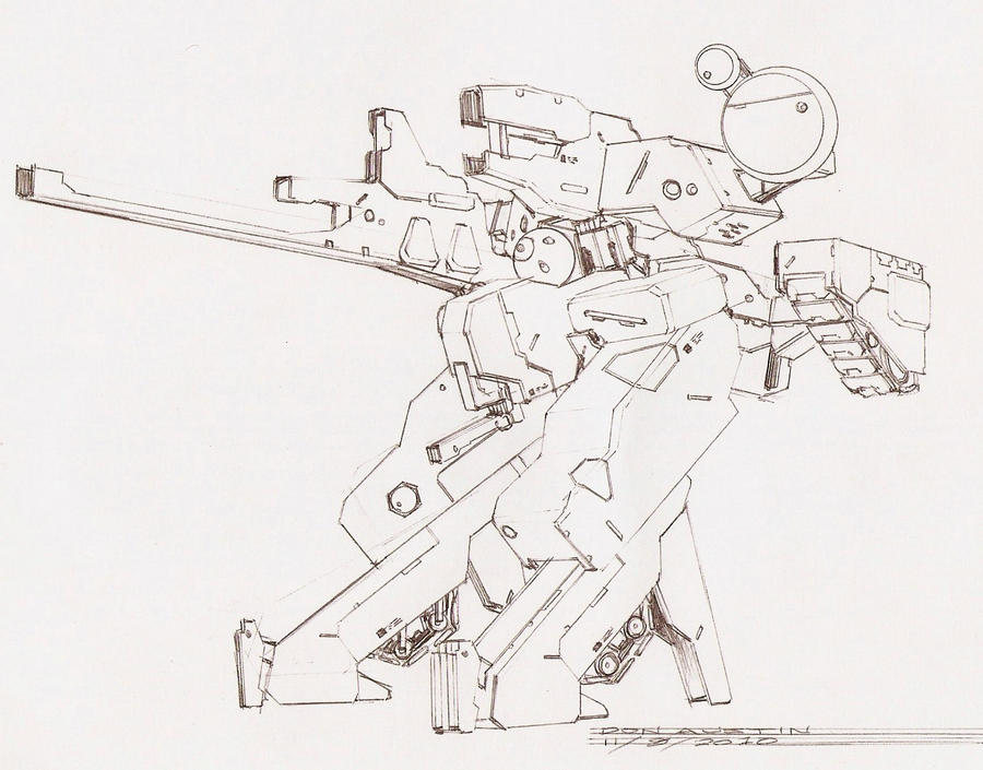 METAL GEAR KAPPA SkEtCh by Dtronaustin