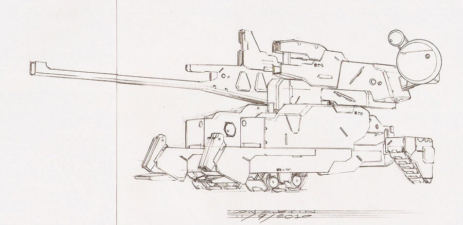 MGK TANK MODE SkEtCh by Dtronaustin
