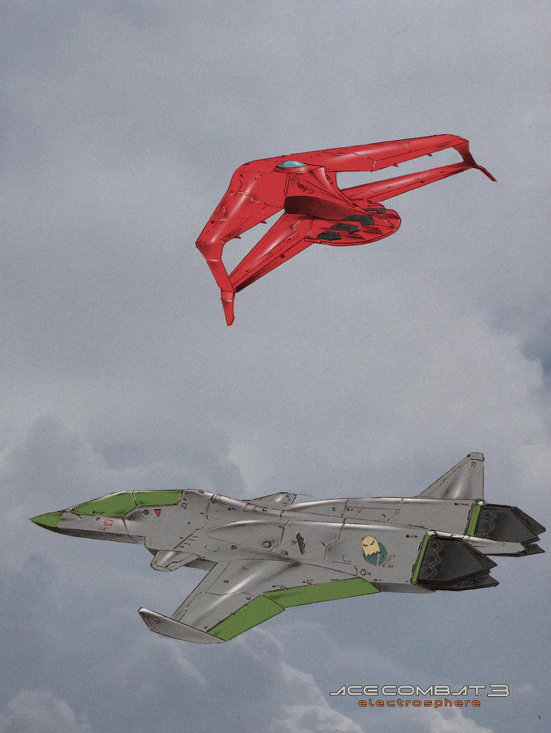 X-49N I G H T R A V E N p l u s XFA-36AG A M E by Dtronaustin