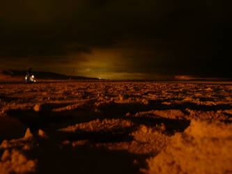 Surreal Beach at Night by roman2