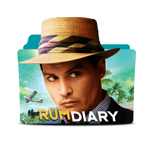 The  Rum Diary Icon by Mhmd-GFX