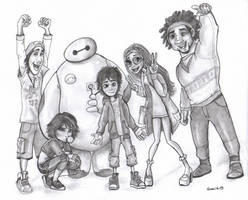 Big Hero 6 by greciiagzz