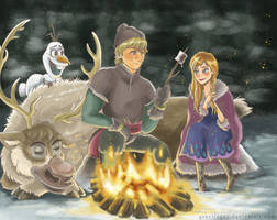 Bonfire by greciiagzz