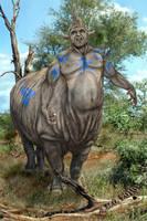 Rascullu the Rhinotaur by spiritwar